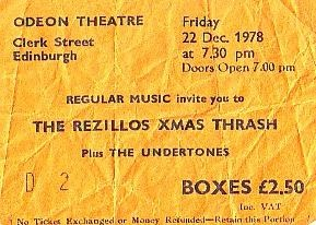Rezillos Ticket2
