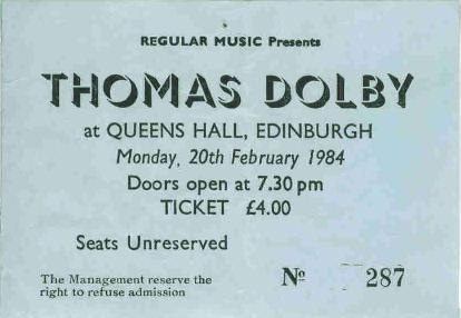 Dolby Ticket